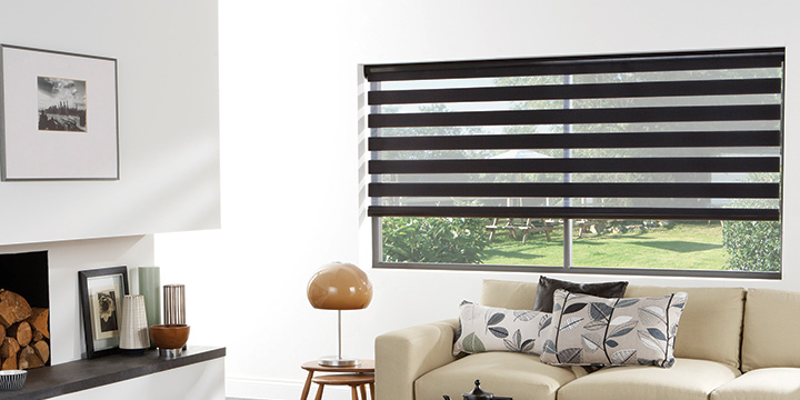 Contemporary Shades Decorative Window Treatments